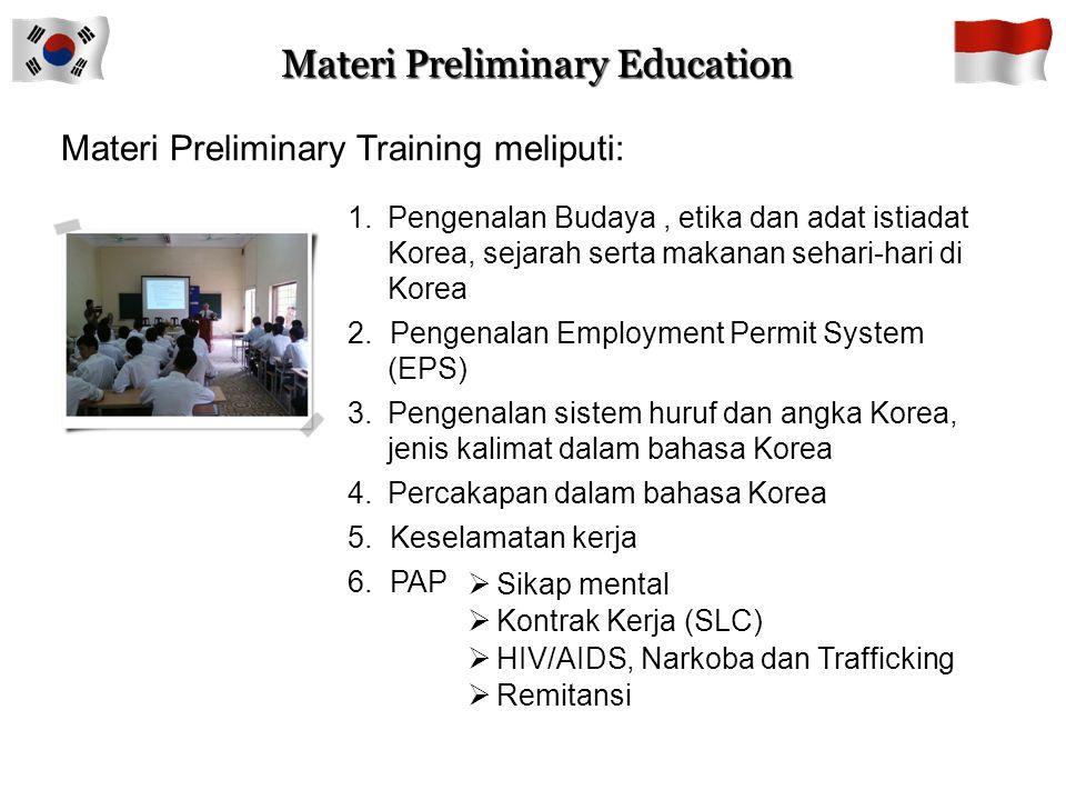 Materi Preliminary Education