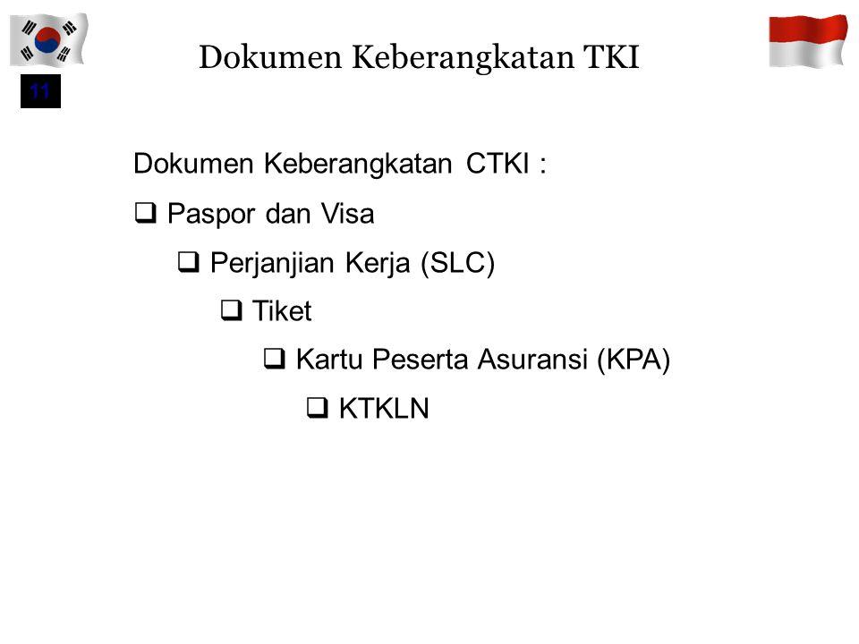 Dokumen Keberangkatan TKI