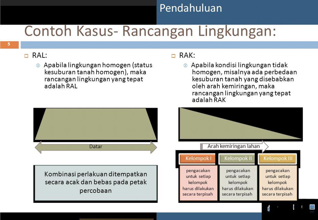 Contoh Kasus- Rancangan Lingkungan:
