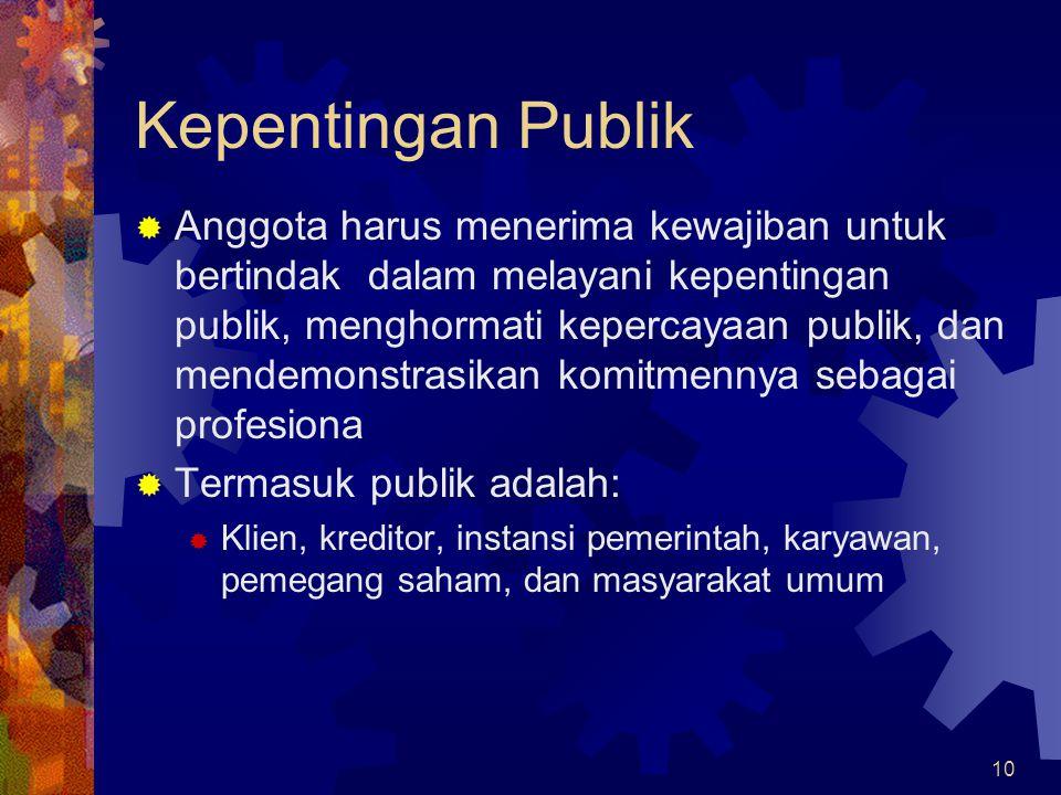 Kepentingan Publik