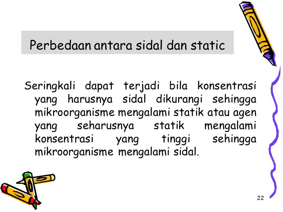 Perbedaan antara sidal dan static