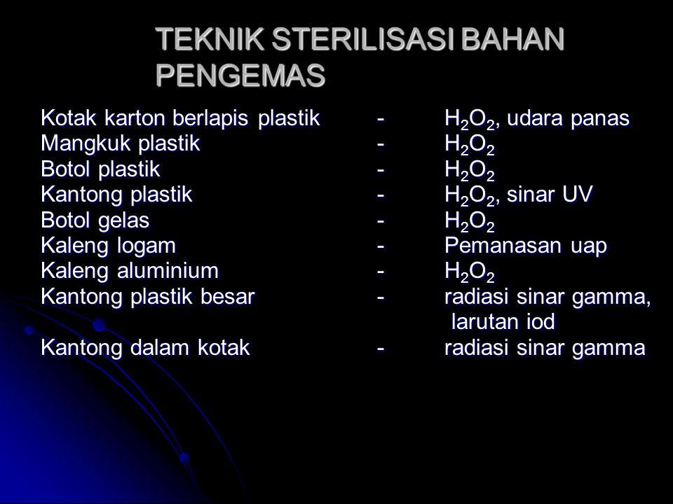 TEKNIK STERILISASI BAHAN PENGEMAS