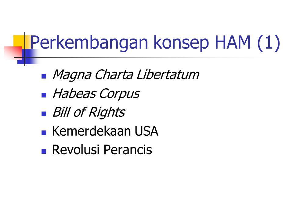Perkembangan konsep HAM (1)