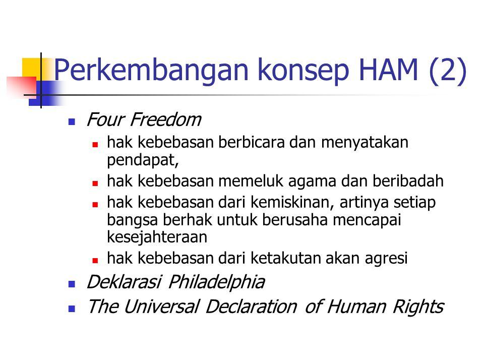 Perkembangan konsep HAM (2)