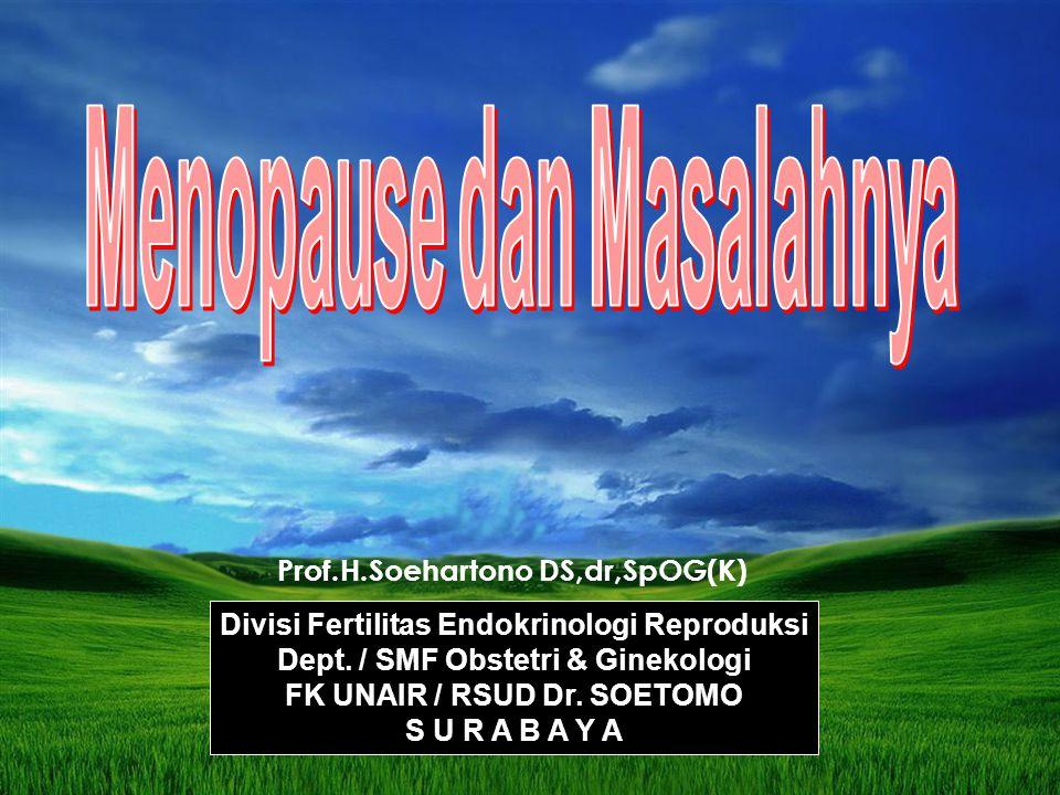 Menopause dan Masalahnya