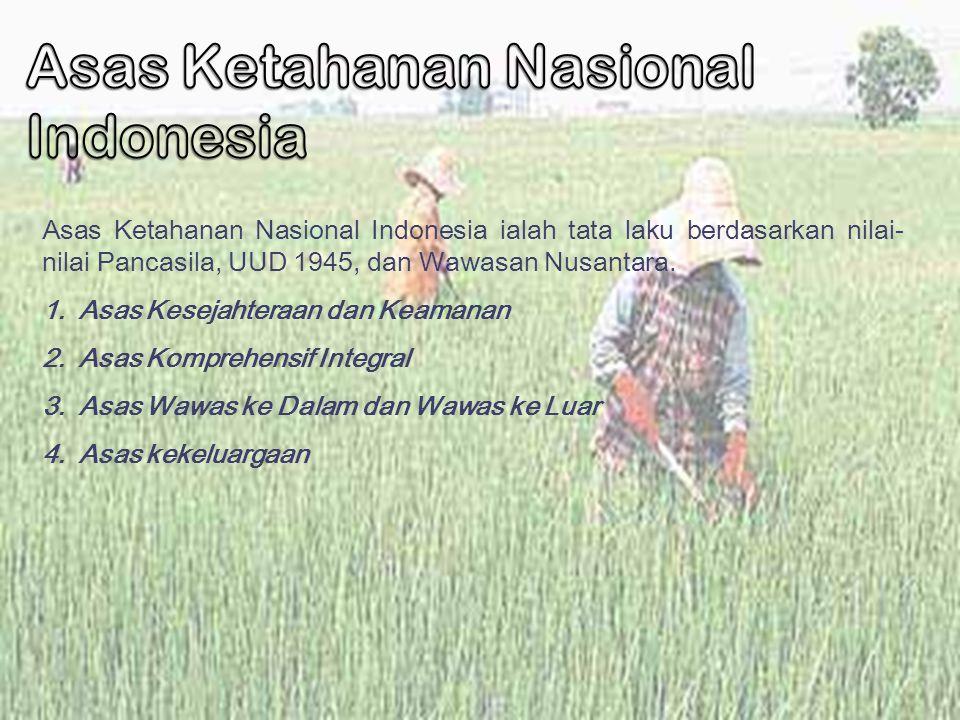 Asas Ketahanan Nasional Indonesia