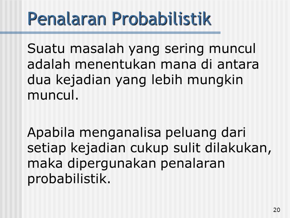 Penalaran Probabilistik
