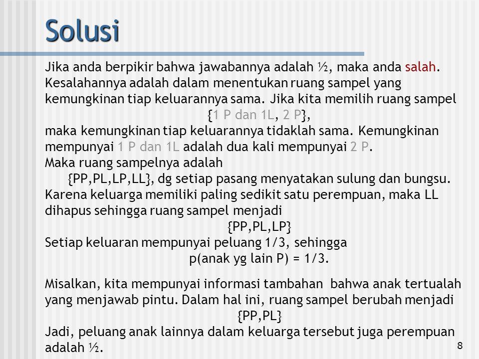 {PP,PL,LP,LL}, dg setiap pasang menyatakan sulung dan bungsu.