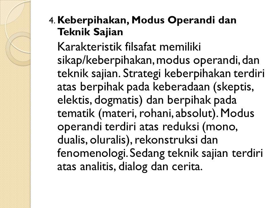 4. Keberpihakan, Modus Operandi dan Teknik Sajian