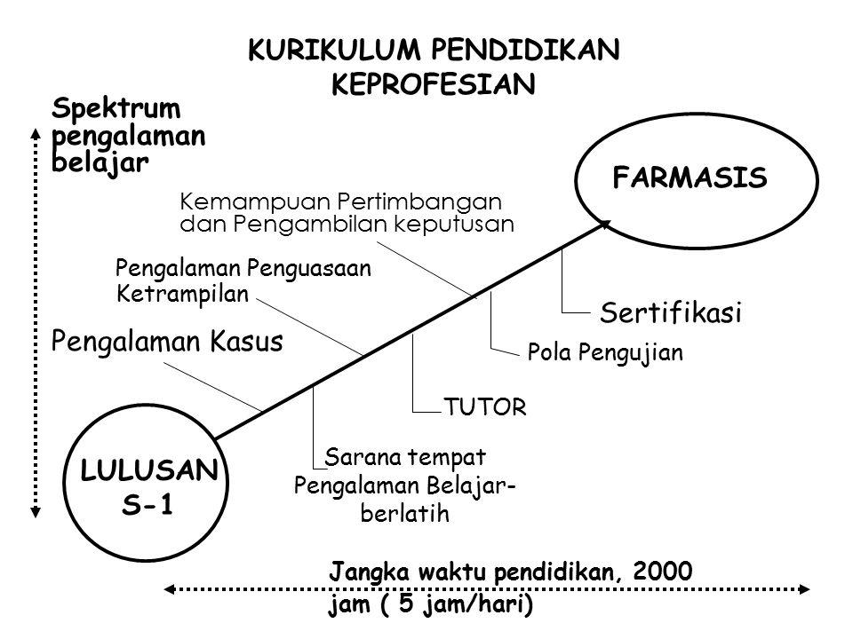 KURIKULUM PENDIDIKAN KEPROFESIAN