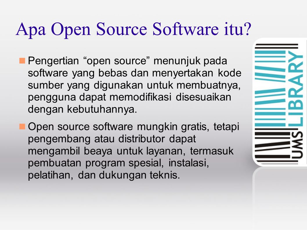 Apa Open Source Software itu
