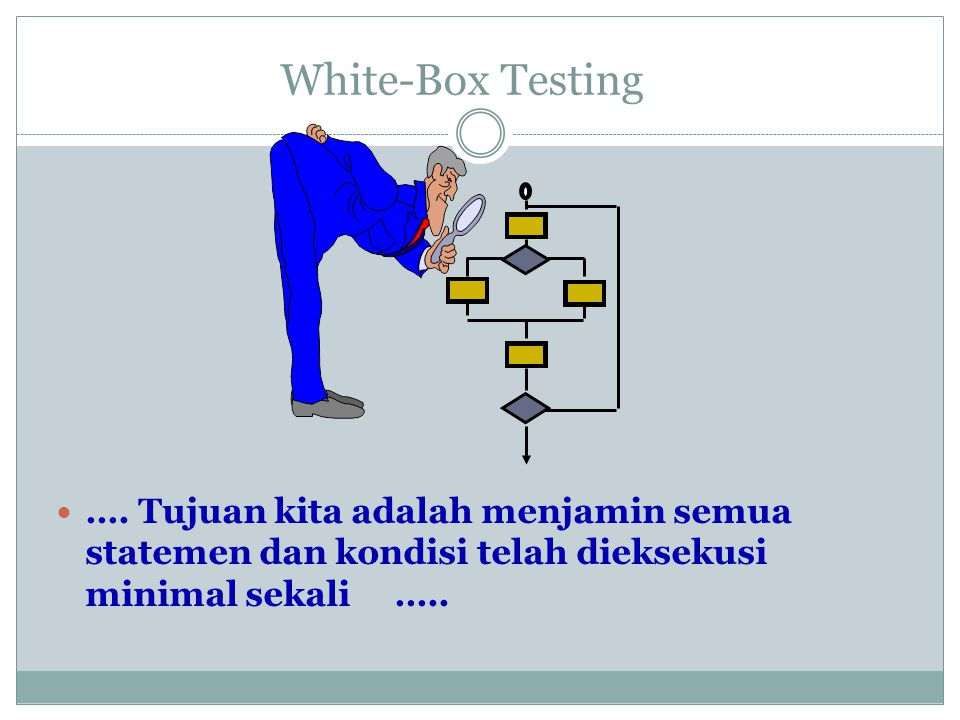 White-Box Testing ….