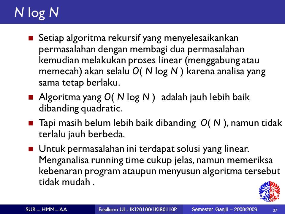 N log N