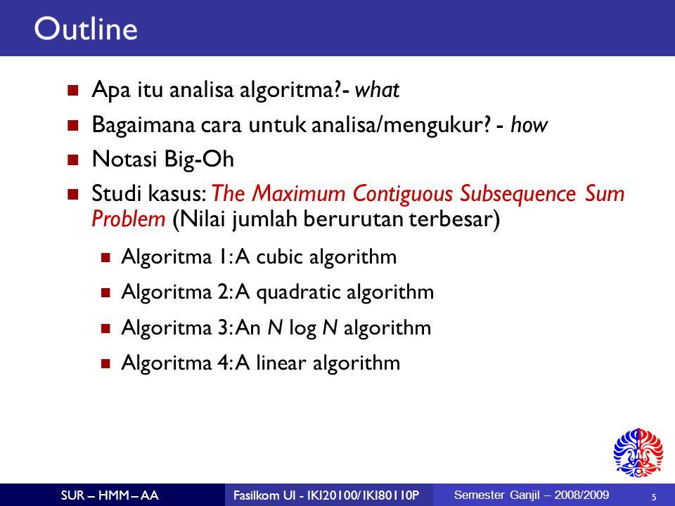 Outline Apa itu analisa algoritma - what