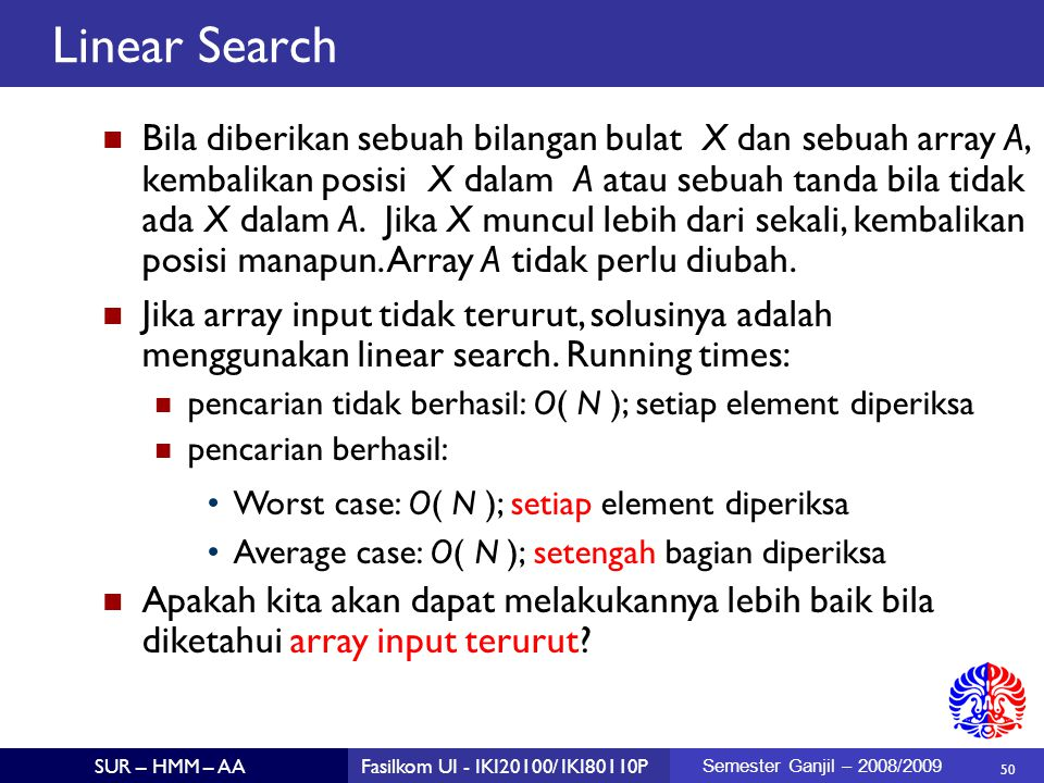 Linear Search