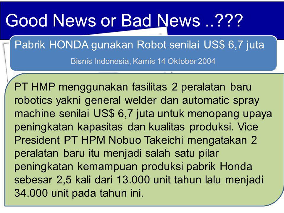 Bisnis Indonesia, Kamis 14 Oktober 2004