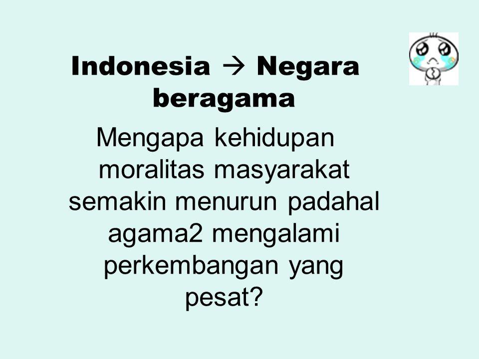 Indonesia  Negara beragama