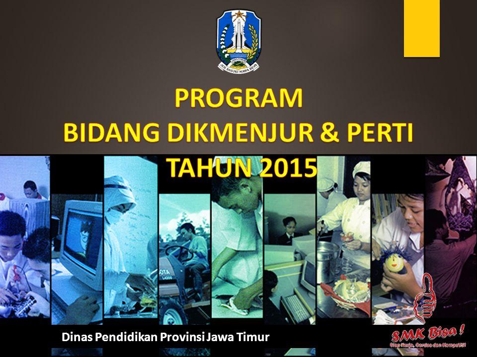 PROGRAM BIDANG DIKMENJUR & PERTI TAHUN 2015