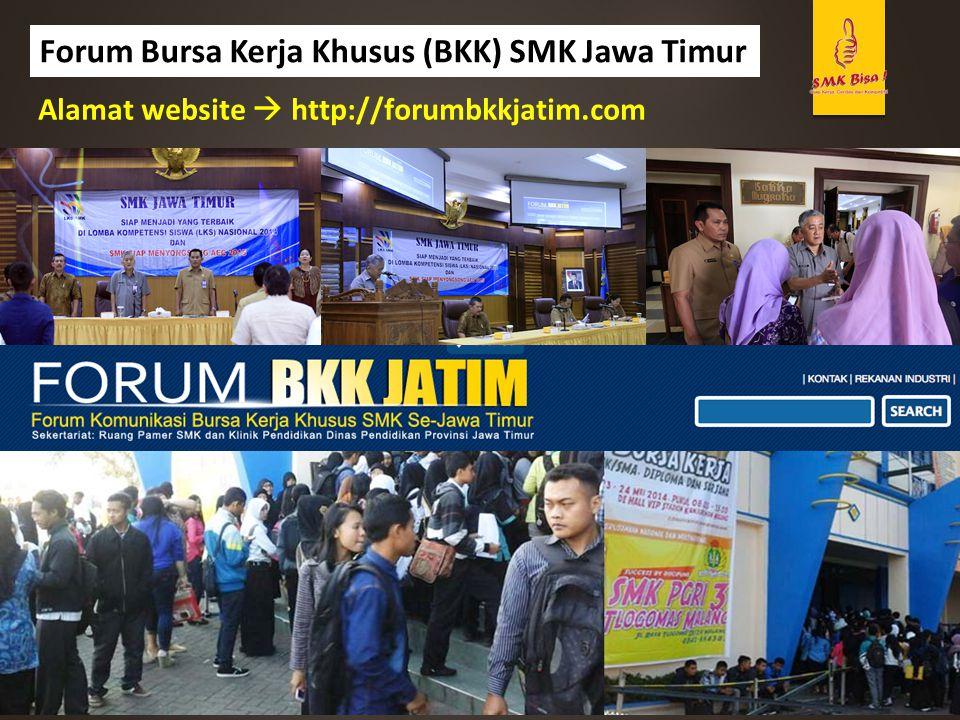 Forum Bursa Kerja Khusus (BKK) SMK Jawa Timur