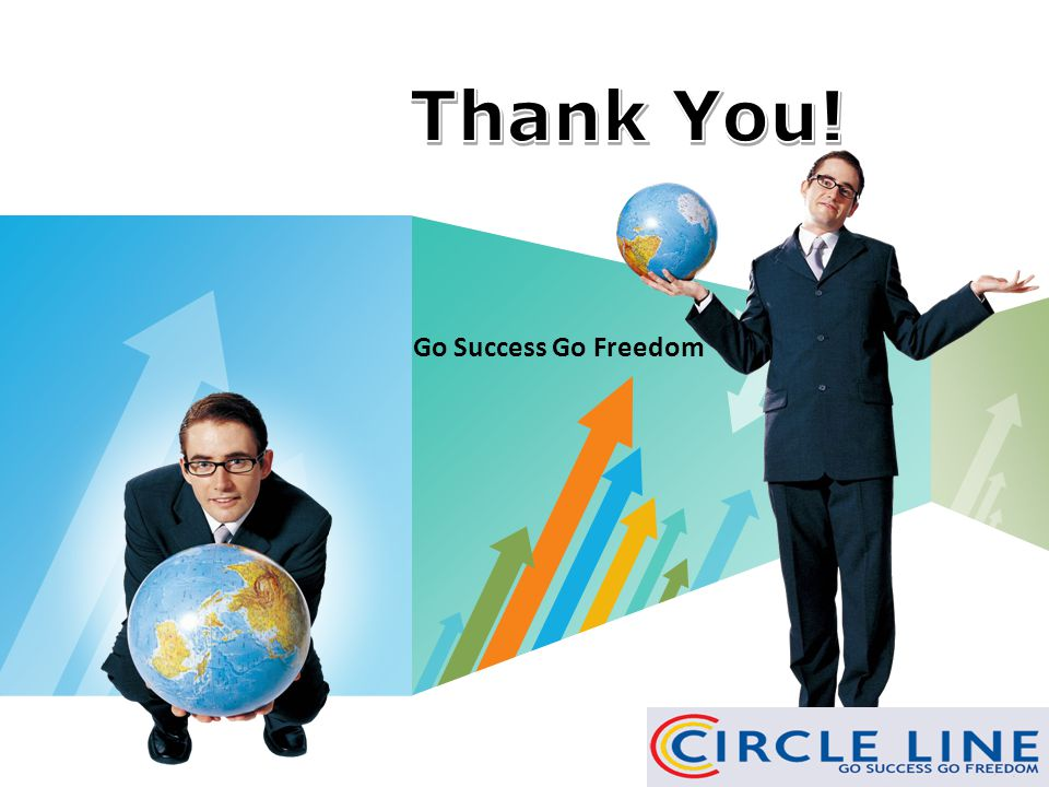 Thank You! Go Success Go Freedom www.themegallery.com