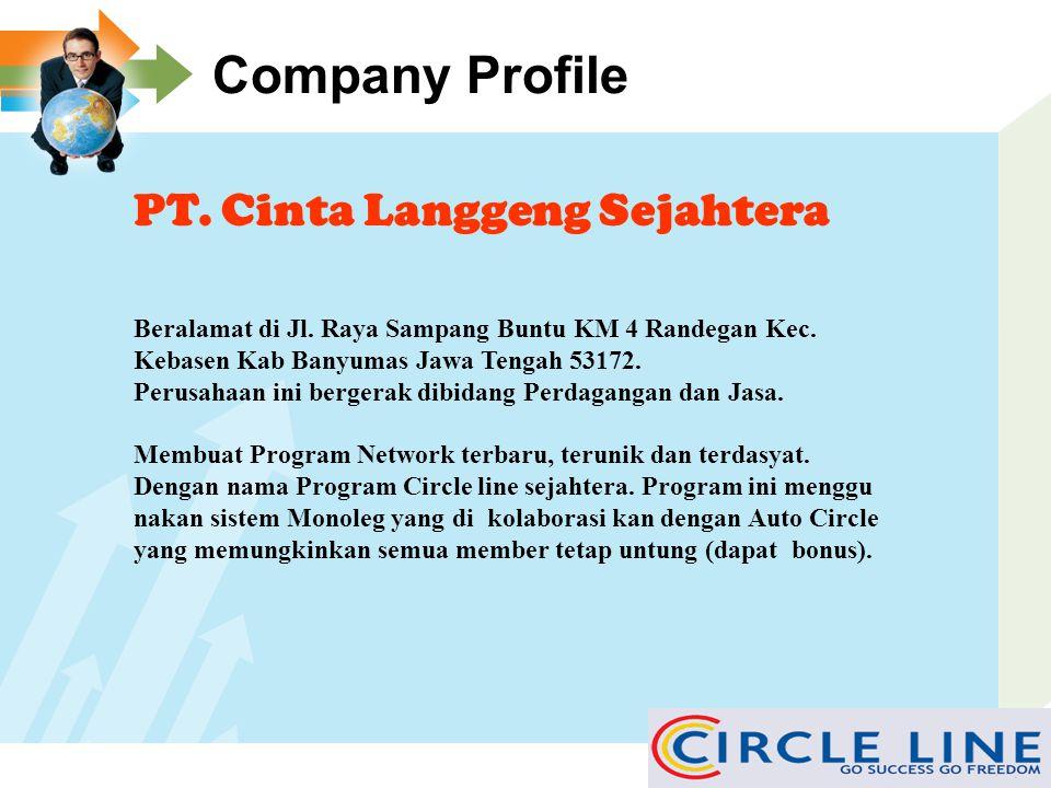 Company Profile PT. Cinta Langgeng Sejahtera