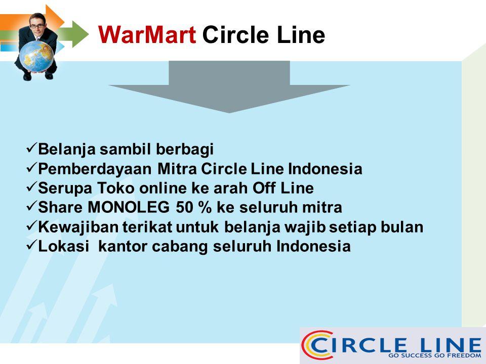WarMart Circle Line Belanja sambil berbagi
