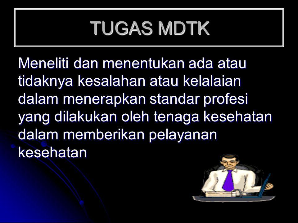 TUGAS MDTK