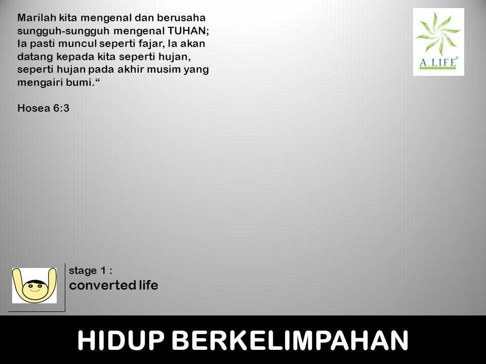 HIDUP BERKELIMPAHAN converted life