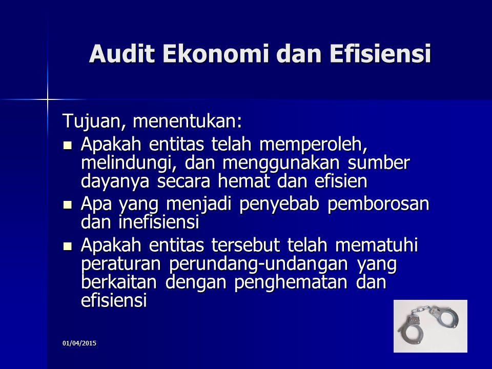 Audit Ekonomi dan Efisiensi
