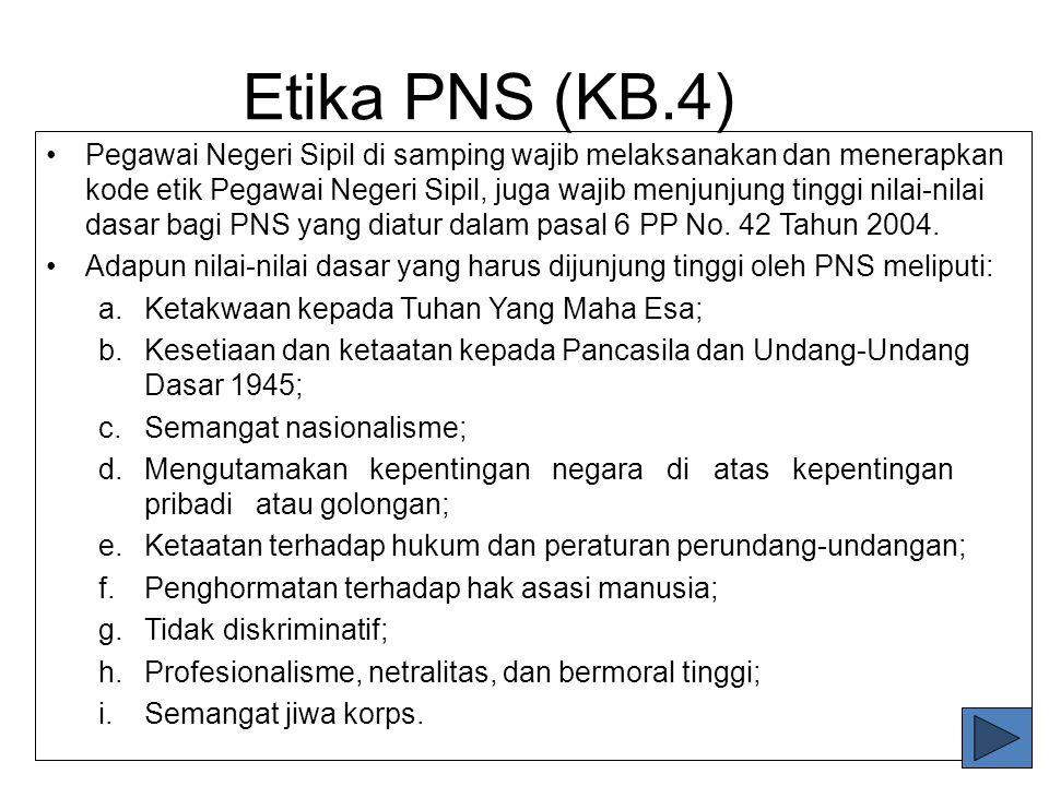 Etika PNS (KB.4)