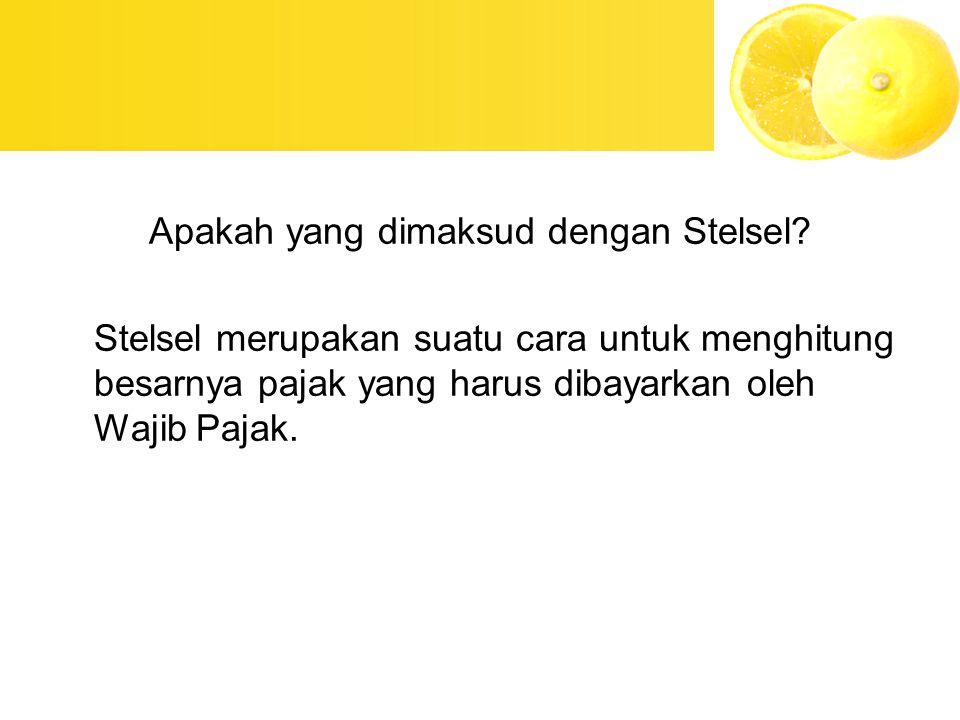 Apakah yang dimaksud dengan Stelsel