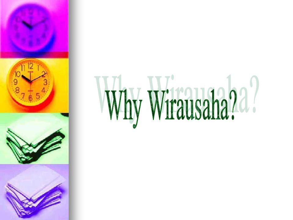 Why Wirausaha