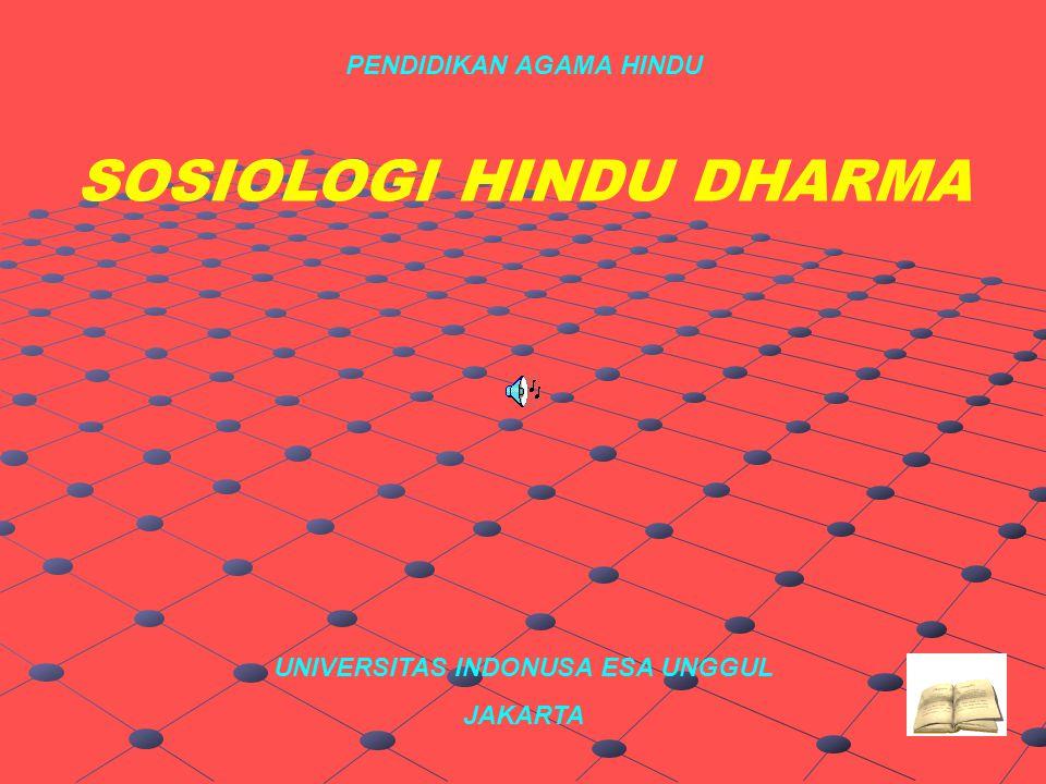 SOSIOLOGI HINDU DHARMA