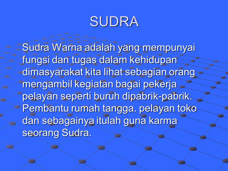 SUDRA
