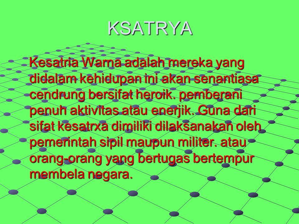 KSATRYA