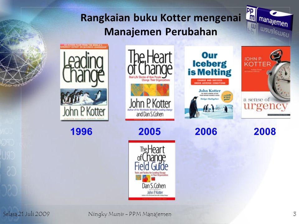 Rangkaian buku Kotter mengenai Manajemen Perubahan