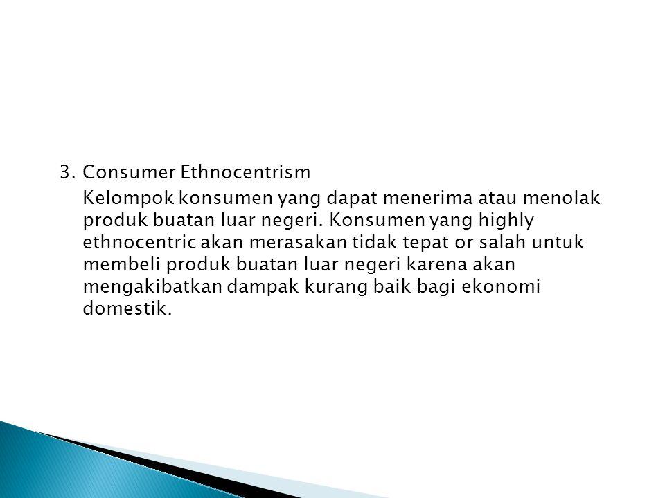 3. Consumer Ethnocentrism