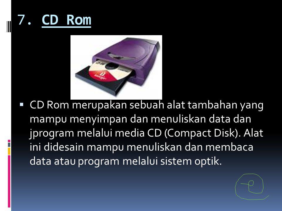 7. CD Rom