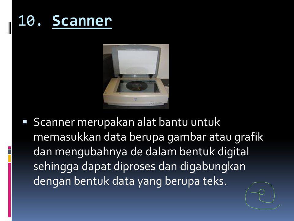 10. Scanner
