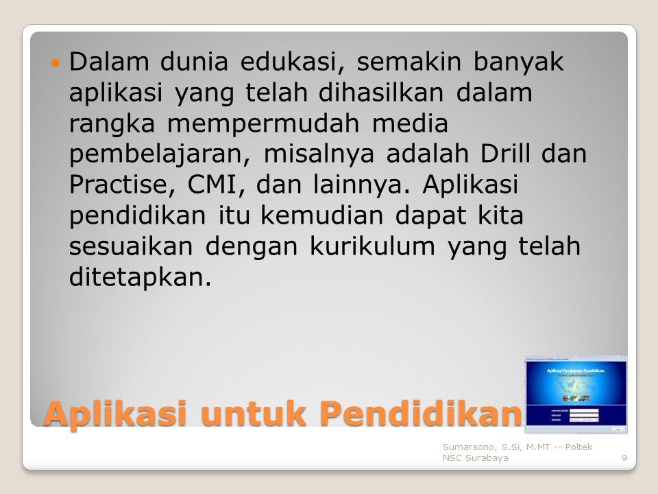Aplikasi untuk Pendidikan