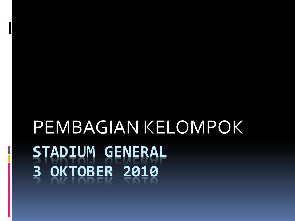 Stadium general 3 oktober 2010