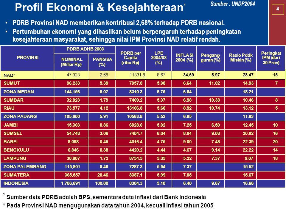 Profil Ekonomi & Kesejahteraan1