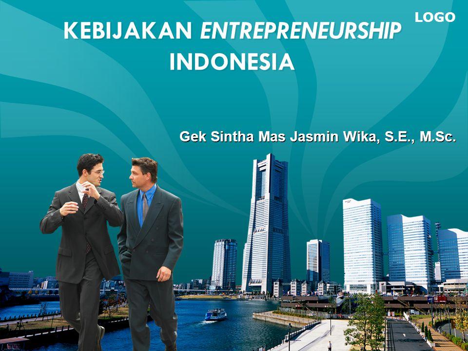 KEBIJAKAN ENTREPRENEURSHIP INDONESIA