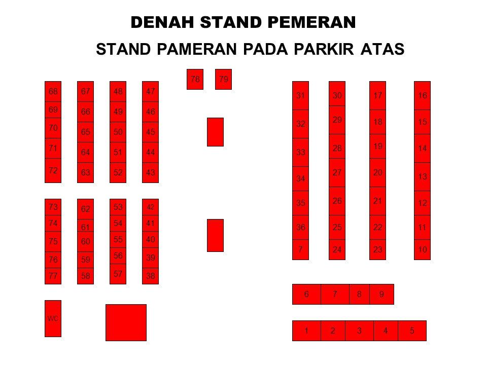STAND PAMERAN PADA PARKIR ATAS