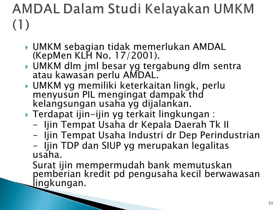 AMDAL Dalam Studi Kelayakan UMKM (1)