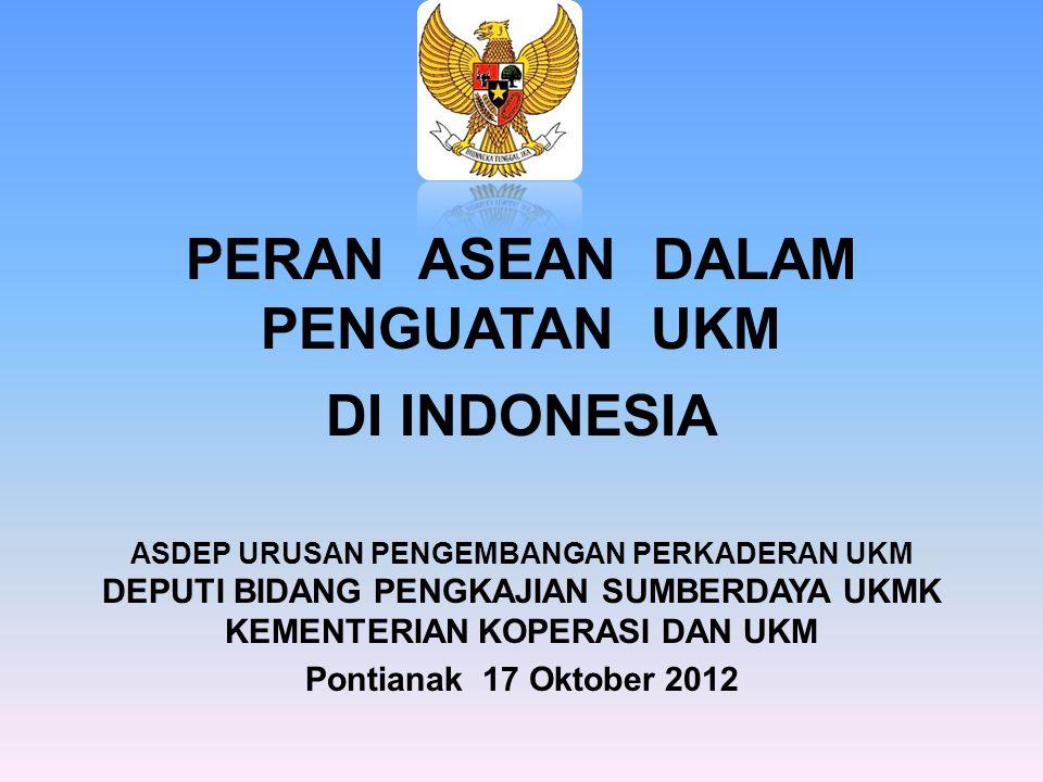 PERAN ASEAN DALAM PENGUATAN UKM DI INDONESIA