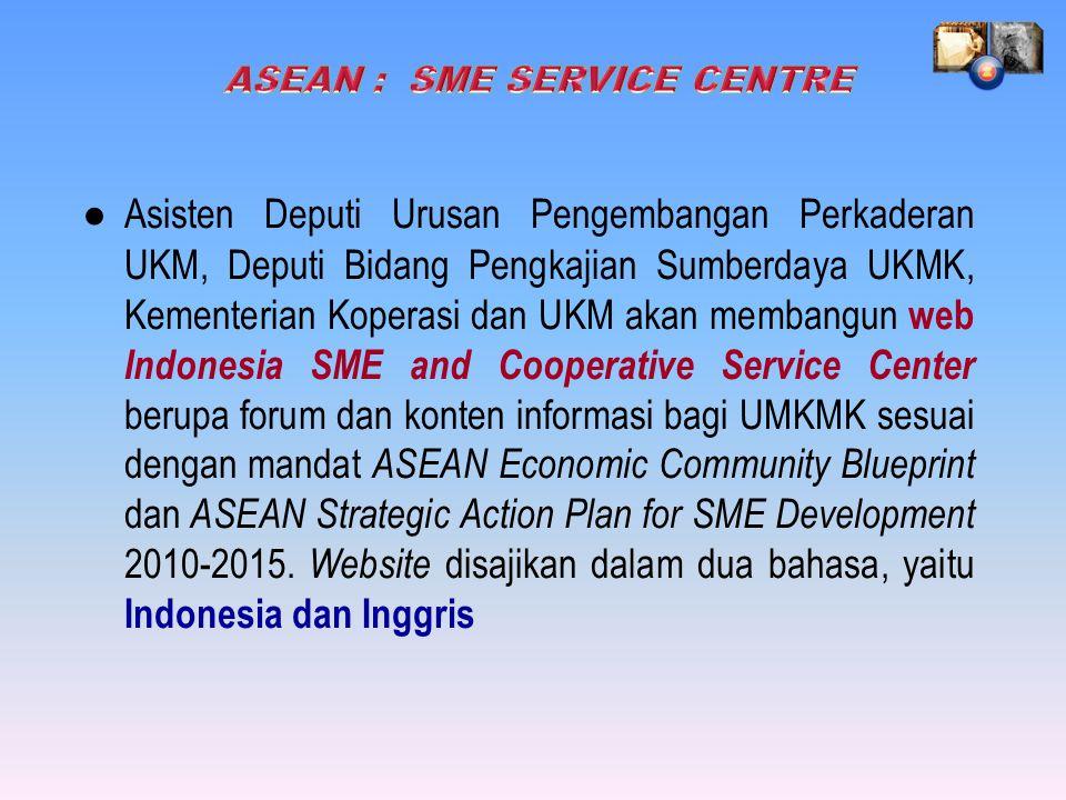 ASEAN : SME SERVICE CENTRE