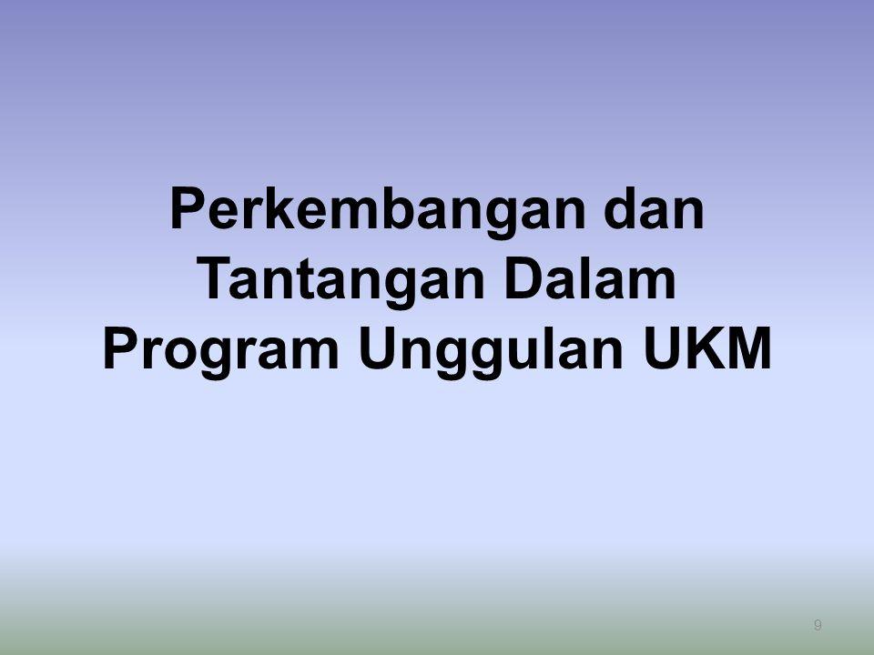 Perkembangan dan Tantangan Dalam Program Unggulan UKM