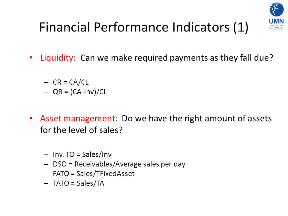 Financial Performance Indicators (1)