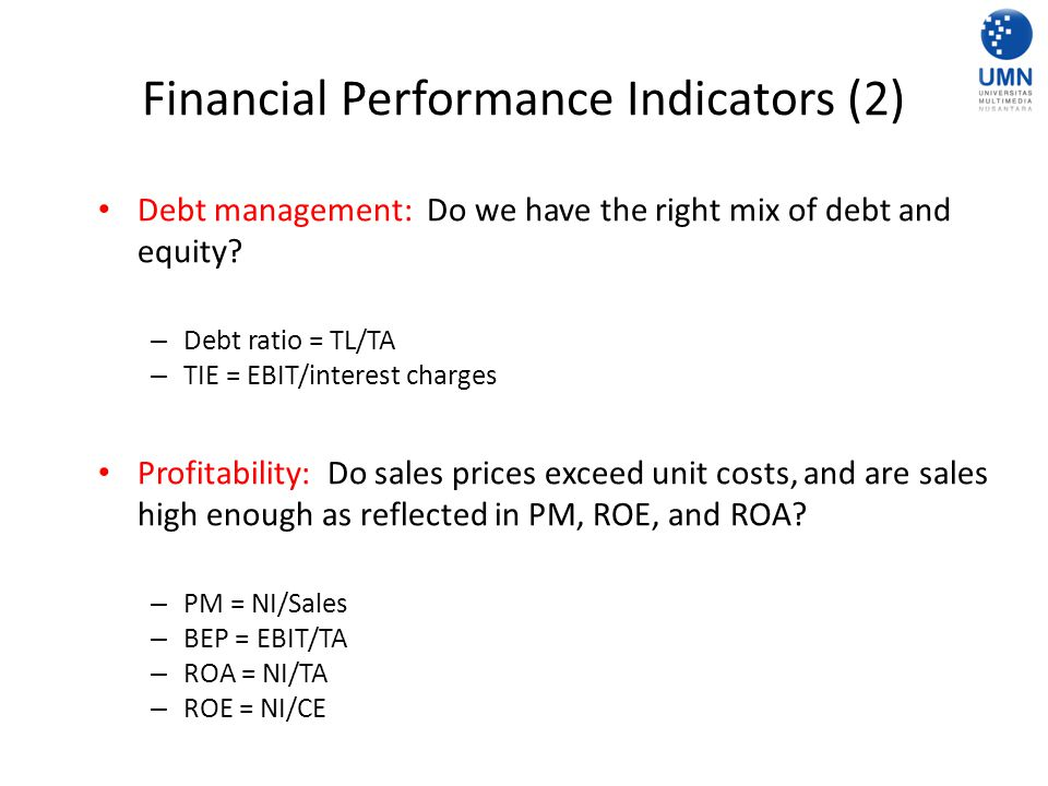 Financial Performance Indicators (2)